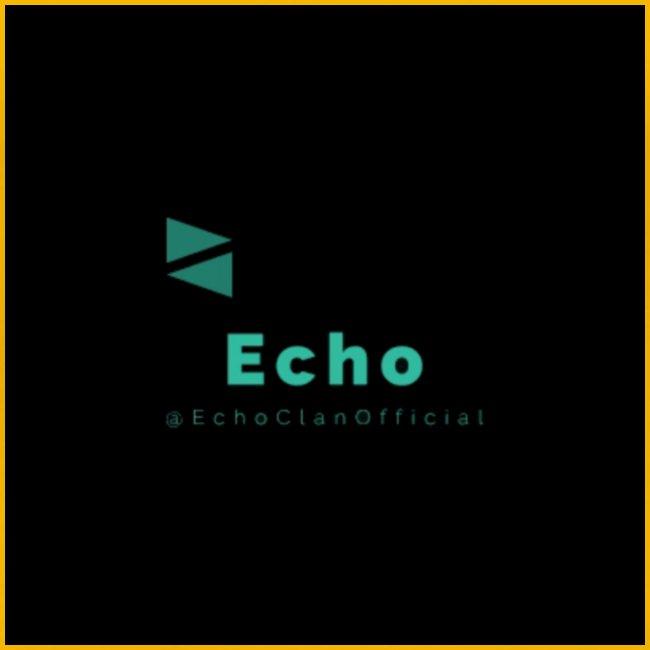 Echo Clan Offical Logo Merch