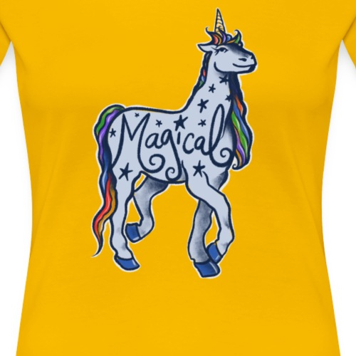 magical unicorn - Women's Premium T-Shirt