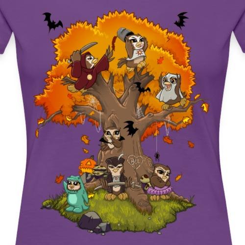 apDrop Fall Scene - Women's Premium T-Shirt