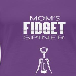 Mom's Fidget Spinner - Women's Premium T-Shirt
