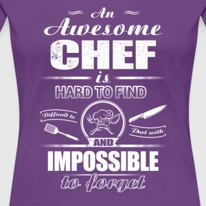 An awesome Chef T-Shirts - Women's Premium T-Shirt