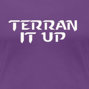 StarCraft 2 Terran It Up - Women's Premium T-Shirt