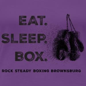 EAT SLEEP BOX - Women's Premium T-Shirt