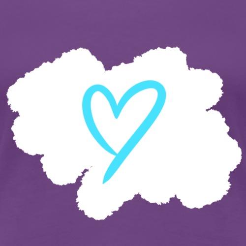 Blue Heart - Women's Premium T-Shirt