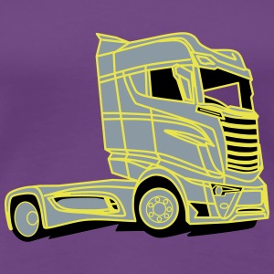 V8 Super Truck - Women's Premium T-Shirt
