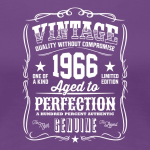 Vintage 1966 Aged to Perfection T-Shirt - Women's Premium T-Shirt