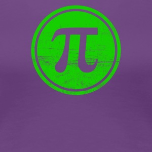 The Pi Fighters Circle Number - Women's Premium T-Shirt