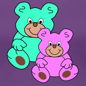 two teddy bears - Women's Premium T-Shirt