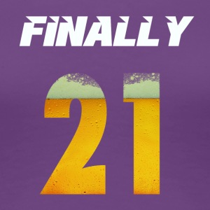 FINALLY 21 - Women's Premium T-Shirt