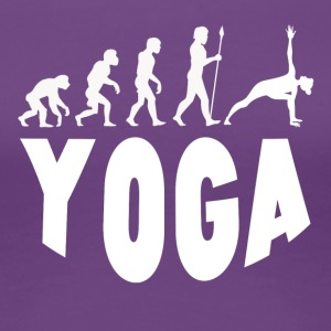 Yoga Evolution - Women's Premium T-Shirt