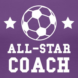 All Star Soccer Coach - Women's Premium T-Shirt
