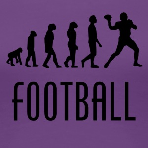 Football Evolution Quarterback - Women's Premium T-Shirt