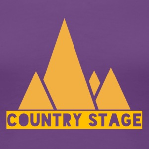 Country Stage - Women's Premium T-Shirt
