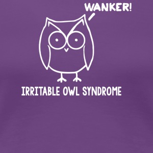 Irritable Owl Syndrome - Women's Premium T-Shirt