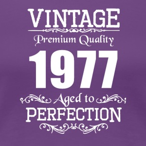 Vintage Premium Quality 1977 Aged To Perfection - Women's Premium T-Shirt