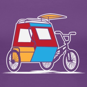 Philippines Padyak Tricycle - Women's Premium T-Shirt
