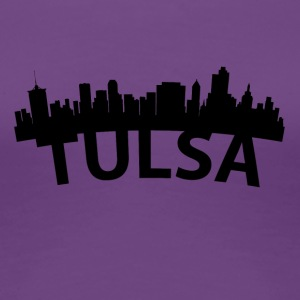 Arc Skyline Of Tulsa OK - Women's Premium T-Shirt