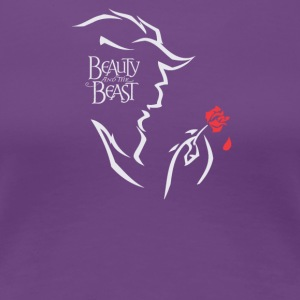 Beauty and the Beast - Women's Premium T-Shirt