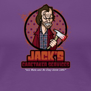 Jack s Caretaker Services - Women's Premium T-Shirt