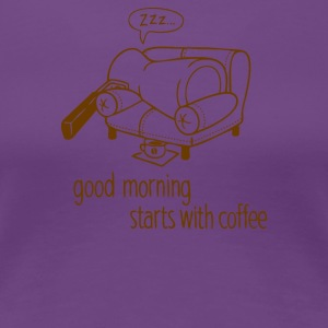 Morning coffee - Women's Premium T-Shirt
