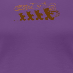 aroma of coffee - Women's Premium T-Shirt