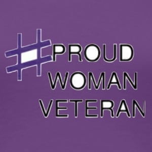 Proud Woman Vet - Women's Premium T-Shirt
