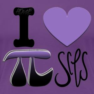 HEWGE I LOVE PISCES ORIGINAL GRAPHIC DESIGN PI DAY - Women's Premium T-Shirt