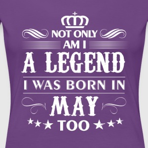 May month Legends tshirts - Women's Premium T-Shirt