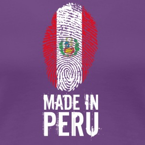 Made In Peru / Piruw / Perú - Women's Premium T-Shirt