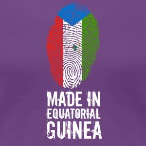 Made In Equatorial Guinea - Women's Premium T-Shirt