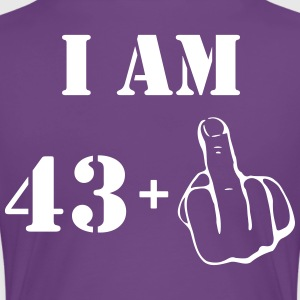 44th Birthday T Shirt 43 + 1 Made in 1973 - Women's Premium T-Shirt