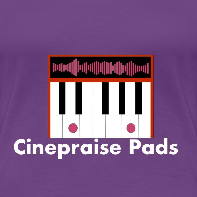 Cinepraise Pads Orange with White Text