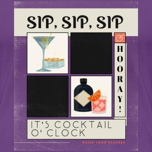 Cocktail Hour - Women's Premium T-Shirt
