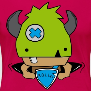 Rollo, the little viking - Women's Premium T-Shirt