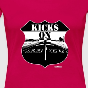 Kicks on Route 66 - Women's Premium T-Shirt