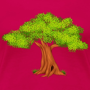 oak-tree-Fauna-wildlife - Women's Premium T-Shirt