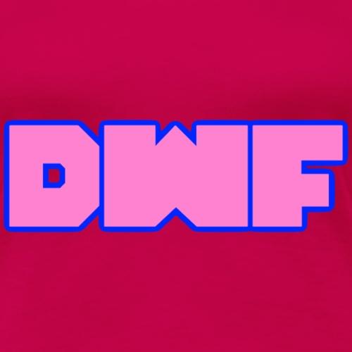 DWF (pink) - Women's Premium T-Shirt