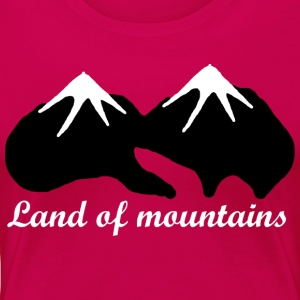 Land of mountains - Women's Premium T-Shirt