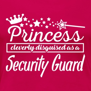 Security Guard - Women's Premium T-Shirt