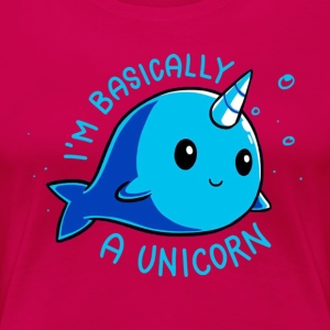 I'm Basically A Unicorn - Women's Premium T-Shirt