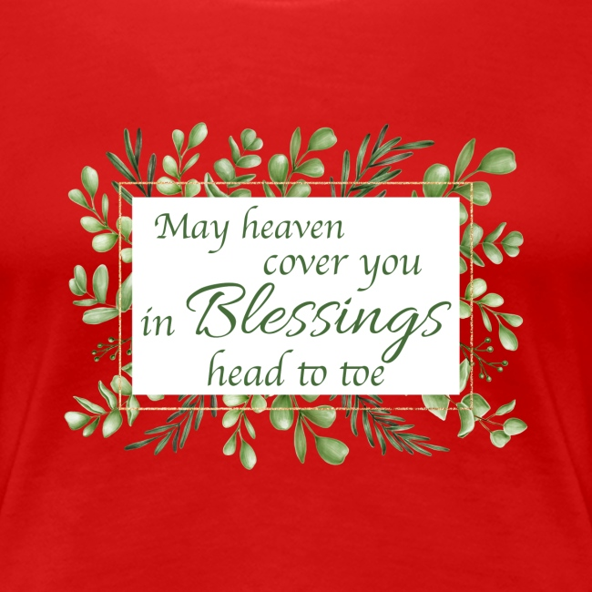 Blessings head to toe