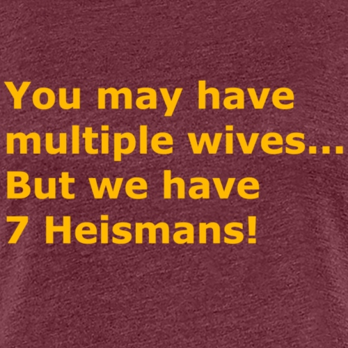 Multiple Wives - Women's Premium T-Shirt