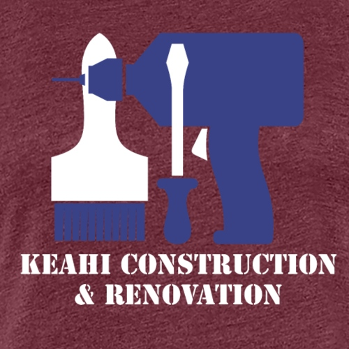 Keahi Construction - Women's Premium T-Shirt