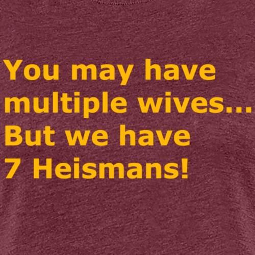 Multiple Wives - Women's Premium T-Shirt