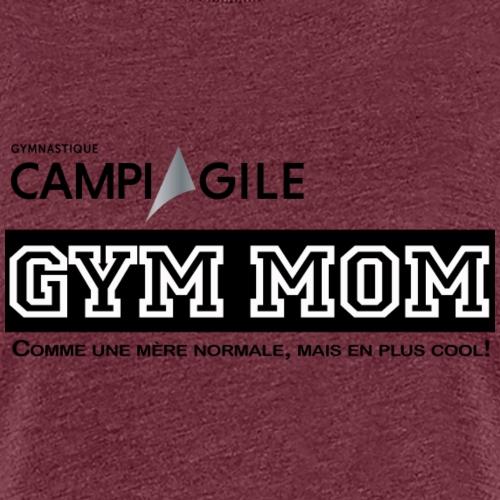 BOUTIQUE GYM MOM - Women's Premium T-Shirt