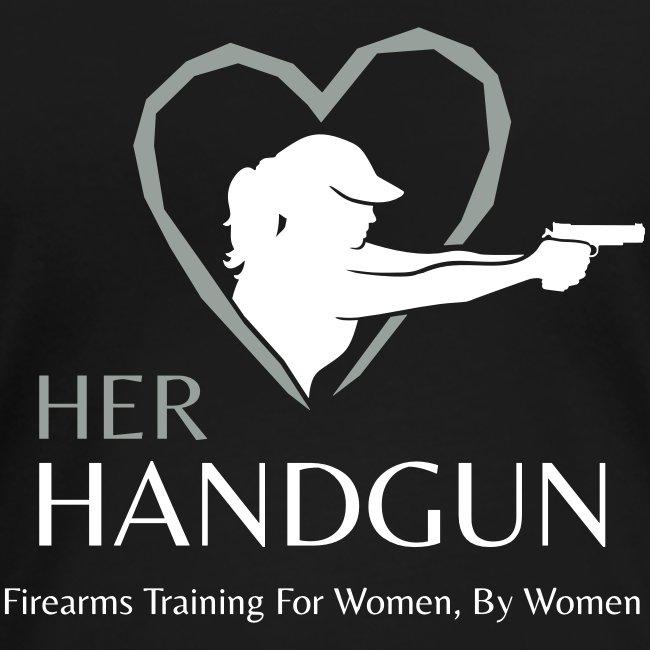Official HerHandgun Logo with Slogan