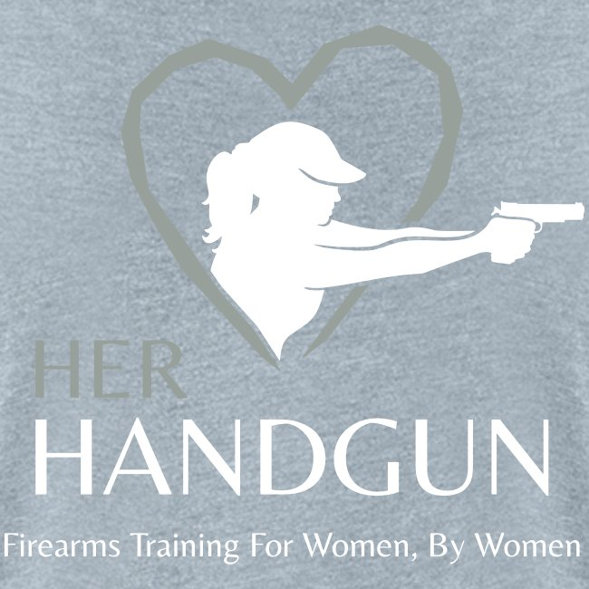 Official HerHandgun Logo with Slogan