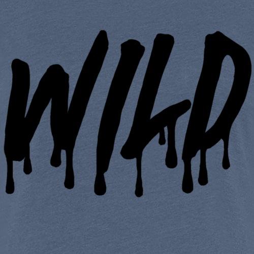 wildsmoothblack - Women's Premium T-Shirt