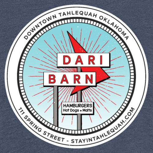 Dari Barn Sign - Women's Premium T-Shirt