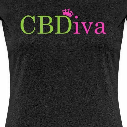 cbdiva - Women's Premium T-Shirt